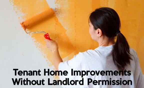 landlord tenant rent home improvements